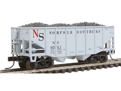 N MasterLine(R) 55-Ton Fishbelly Hopper, Flat End -- Norfolk Southern #8501