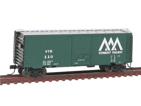 N 85' Trash Container Flatcar - Ready to Run -- Canadian National #638112 (black)