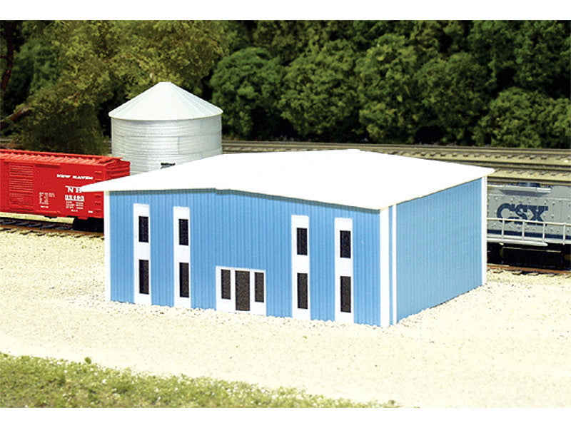541-8010 N Two-Story Modern Office Building -- 50' x 40' (blue)