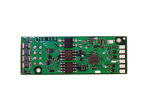 HO LL8 DCC 6-Function Decoder - Control Only -- Fits PROTO 2000 Locomotives .71 x 1.89 x 0.138""