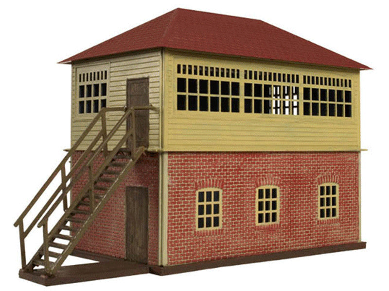 "751-717 HO Trainman(R) Interlocking Tower - Kit (Plastic) -- 5-3/4 x 2-1/2"" 14.6 x 6.4cm"