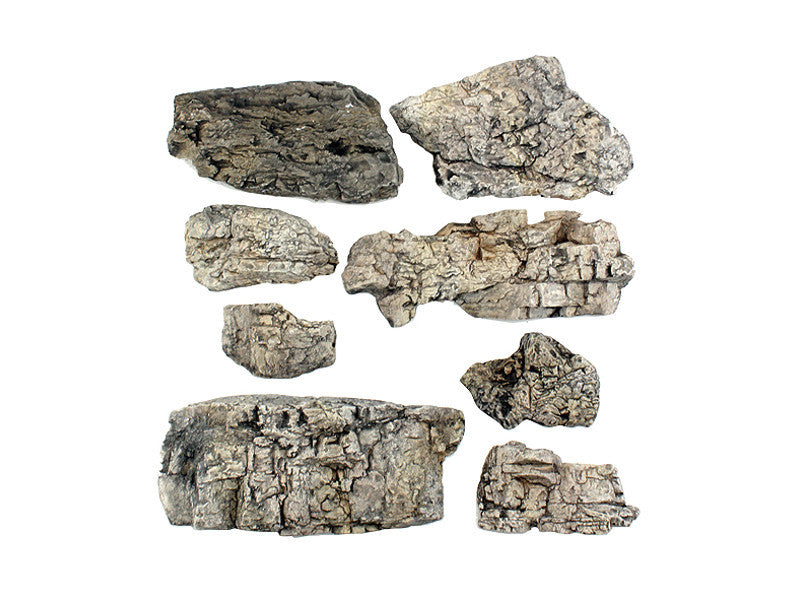 785-1137 A Faceted Rocks - Ready Rocks -- 8 Pieces