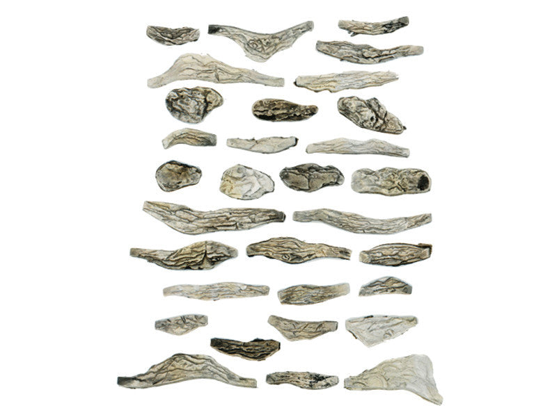 785-1141 A Creek Bed Rocks - Ready Rocks -- 31 Pieces