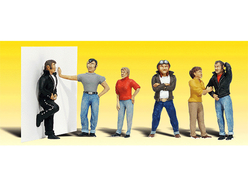 785-2136 N Scenic Accents(R) Figures -- Rebels