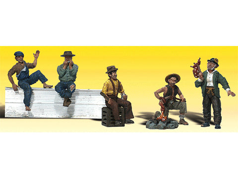N Scenic Accents(R) Figures -- Hobos pkg(5)