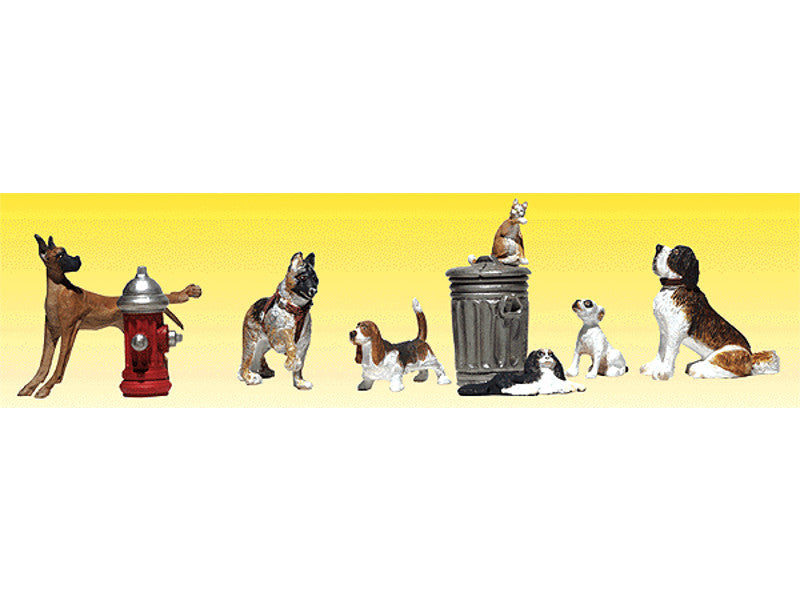 785-2140 N Dogs & Cats - Scenic Accents(R) -- pkg(12)