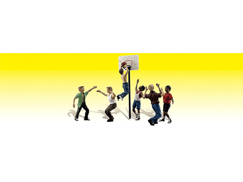 785-2207 N Scenic Accents(R) Figures -- Shootin' Hoops
