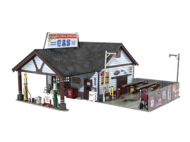 785-4935 N Ethyl's Gas & Service - Built-&-Ready Landmark Structures(R) -- Assembled
