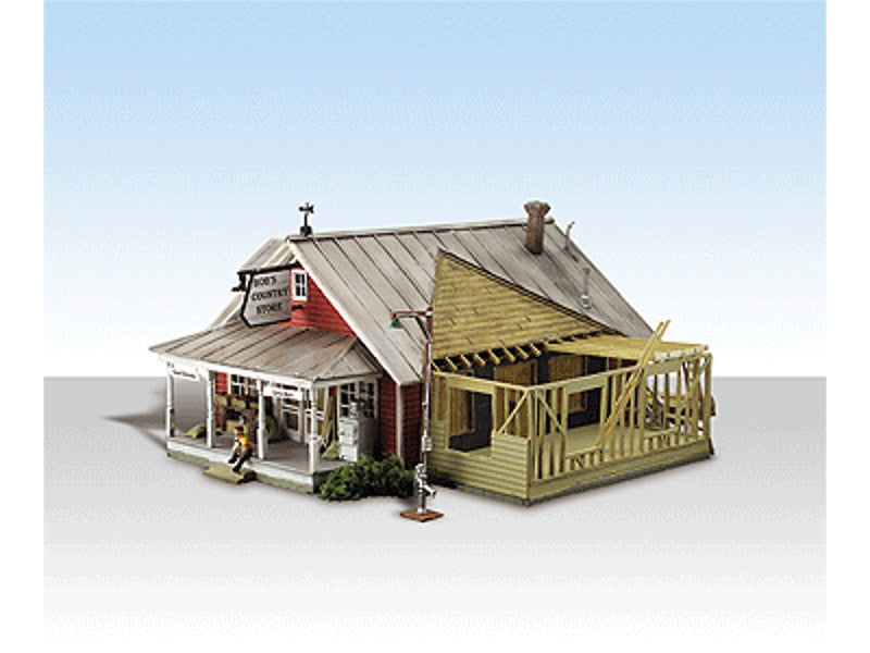 "785-5031 HO Country Store Expansion - Built-&-Ready Landmark Structures(R) -- Assembled - 6-7/16 x 5-1/2"" 16.4 x 14cm"