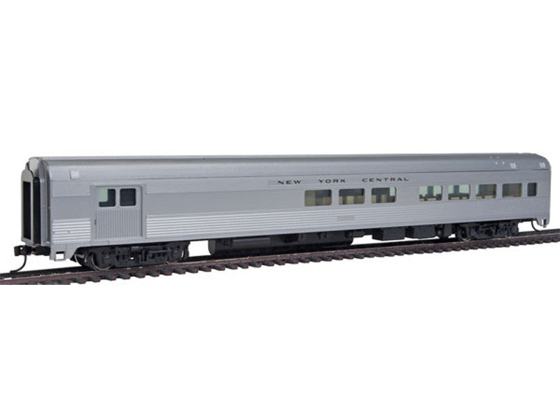 910-30055 HO 85' Budd Baggage-Lounge - Ready to Run -- New York Central (silver)
