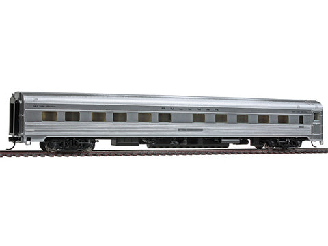HO  85' Budd Pacific Series 10-6 Sleeper - Ready to Run -- New York Central (Plated Metal Finish)