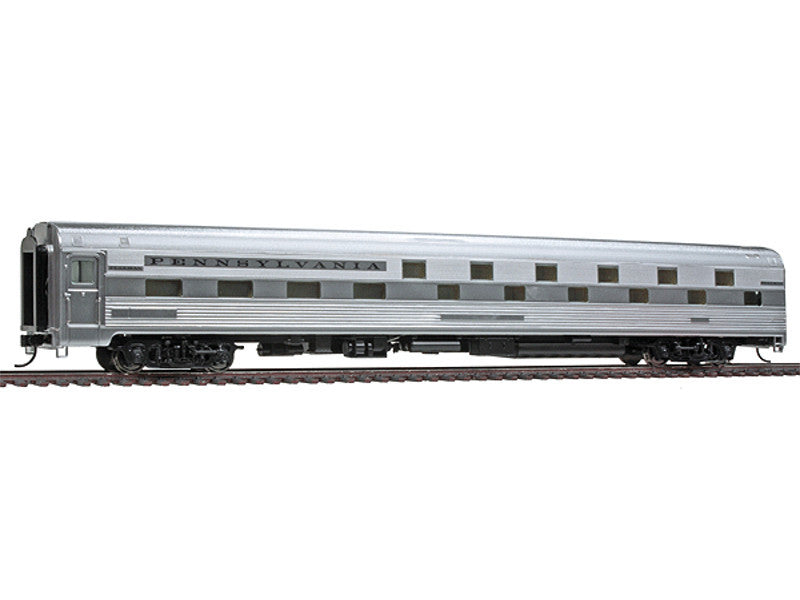 932-15163 HO 85' Budd Slumbercoach 24-8 Sleeper - Ready to Run -- Pennsylvania Railroad (plated finish, black lettering)