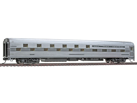 HO 85' Budd Slumbercoach 24-8 Sleeper - Ready to Run -- New York Central (Plated Metal Finish)
