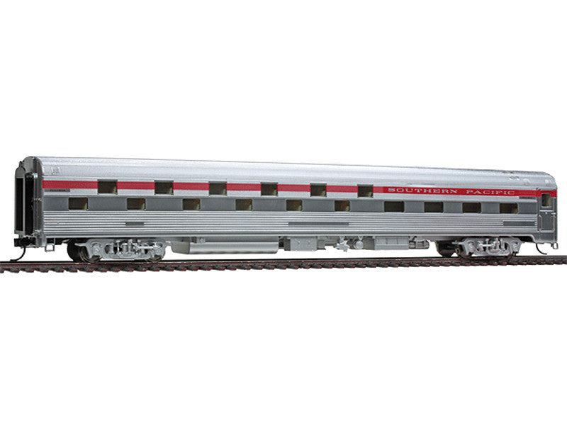 932-15168 HO 85' Budd Slumbercoach 24-8 Sleeper - Ready to Run -- Southern Pacific(TM) (Plated Metal Finish, red Letterboard)