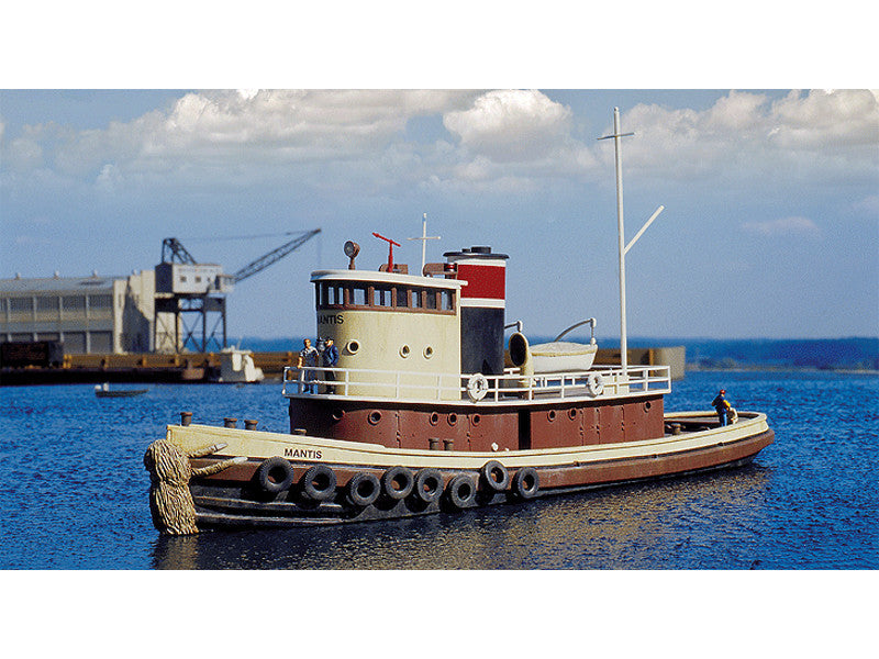 "933-3153 HO Railroad Tugboat -- Kit - 13 x 3-1/2 x 3-7/8"" 32 x 8.7 x 9.6cm"