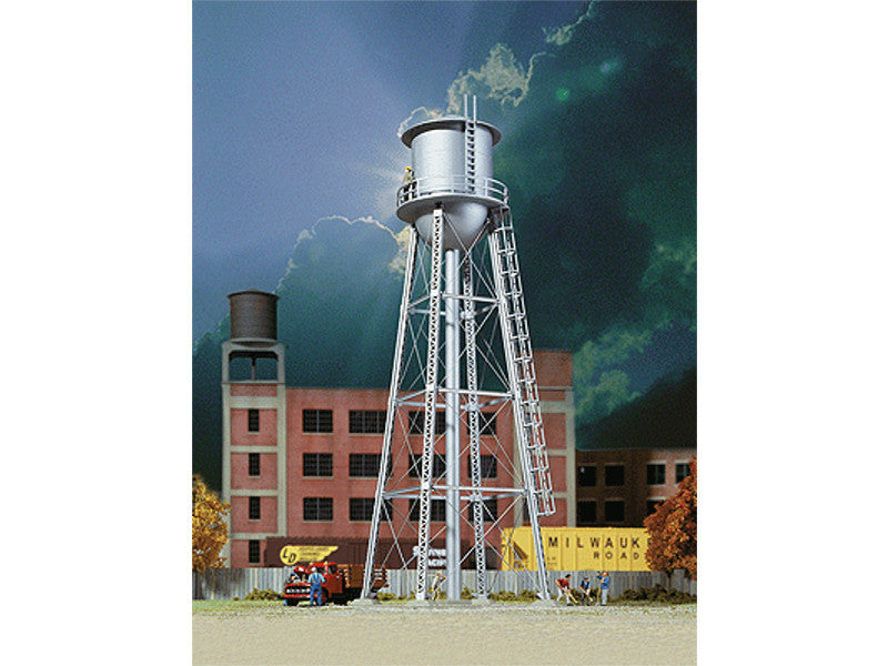 "933-3833 N Vintage Water Tower -- Assembled - 2-3/8 x 2-3/8 x 7"" 6 x 6 x 17.7cm"