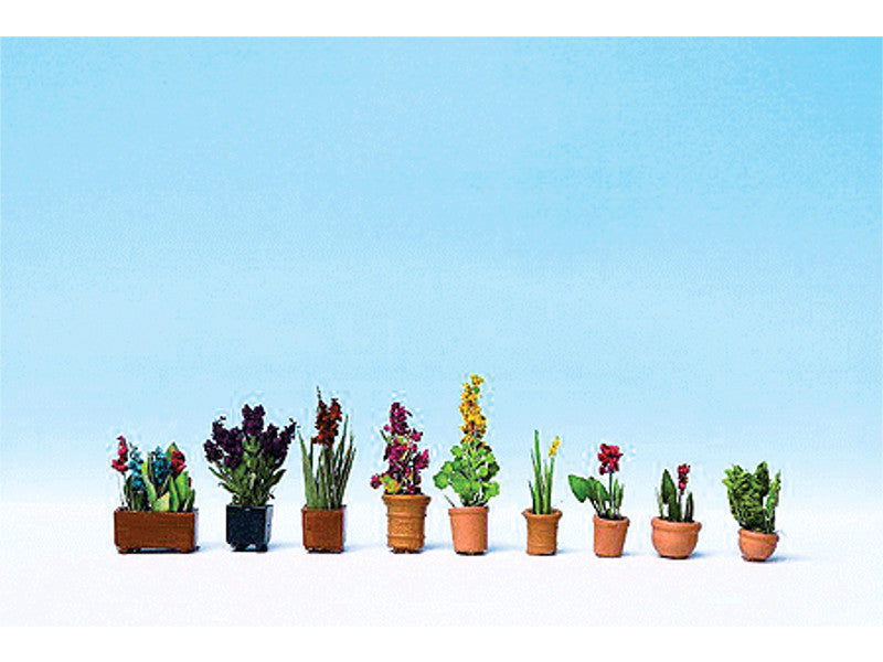 949-1081 Potted Ornamental Plants - Botanicals(TM) -- pkg(9)