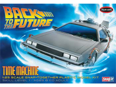 1/25 Back To The Future Time Machine