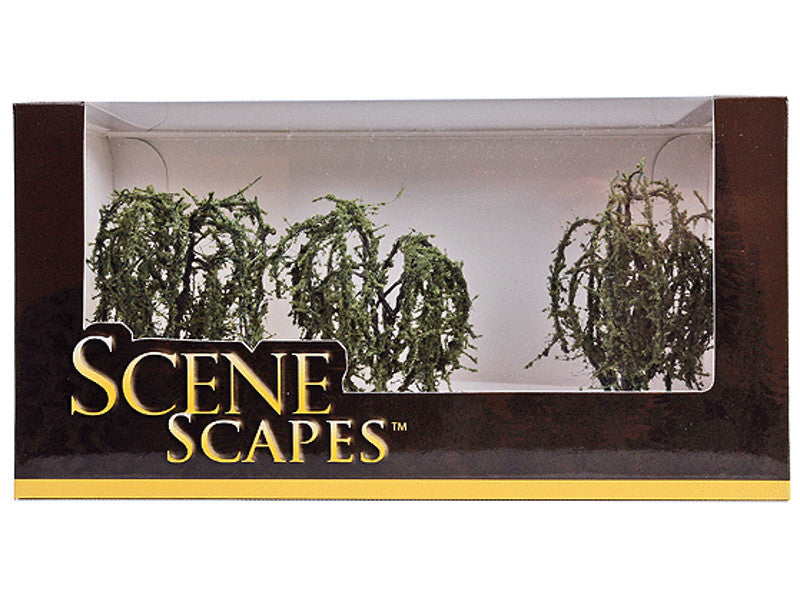 "bac32014 A Scenescapes Willow Trees, 3-3.5"" (3)"