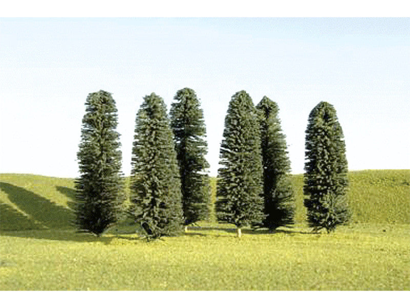 "bac32159 A Cedar Trees - SceneScapes(TM) -- 3 - 4"" 7.6 - 10.2cm Tall pkg(36)"