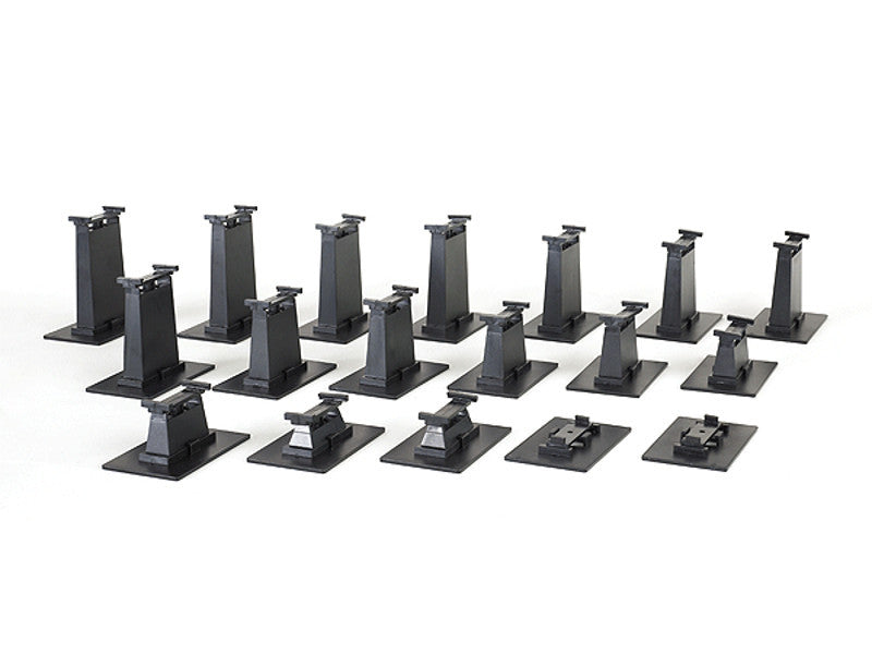 bac44595 HO Graduated Pier Set - E-Z Track(R) -- 18 Pieces