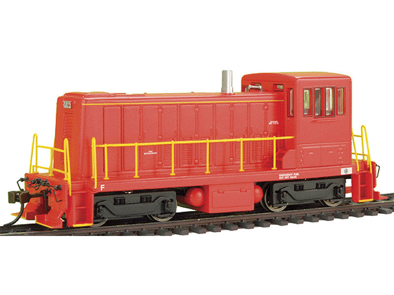 bac60609 HO GE 70-Tonner - DCC -- Painted, Unlettered (red)