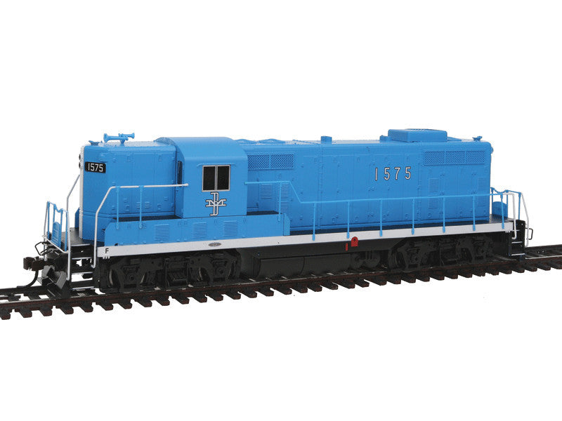 bac65605 HO EMD GP7 w/Sound & DCC -- Boston & Maine #1575 (Mc Ginnis Scheme, blue, black)