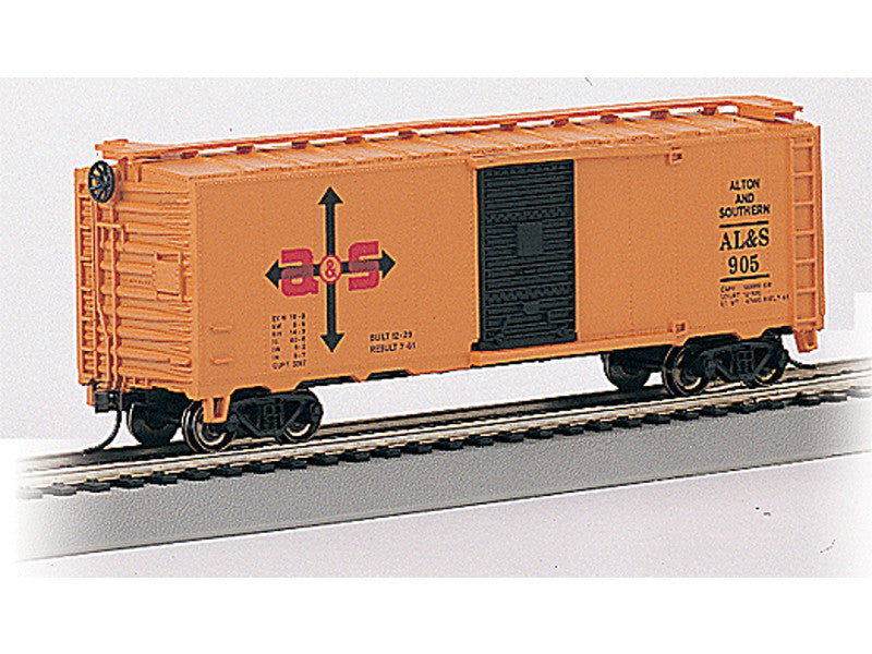 bac70084 N Silver Series(R) 40' Box Car -- Alton & Southern