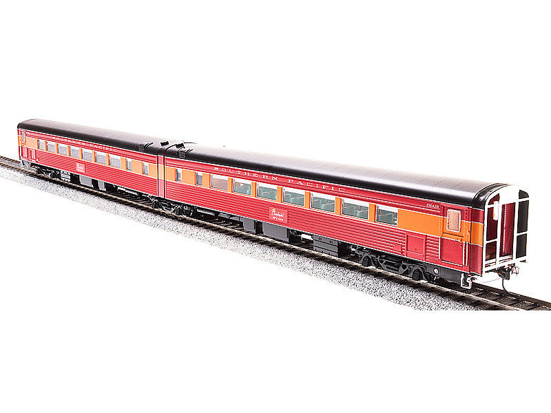 bli1571 HO SP Coast Daylight Train #98 Articulated Chair Car w/Antenna -- Southern Pacific #W2462/M2461