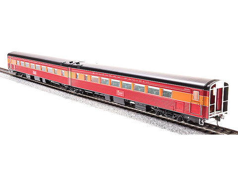 HO SP Coast Daylight Train #98 Articulated Chair Car w/Antenna -- Southern Pacific #W2462/M2461