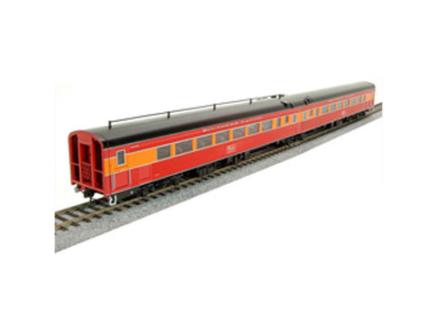 HO SP Coast Daylight Train #99 Articulated Chair Car -- Southern Pacific #W2458/M2457