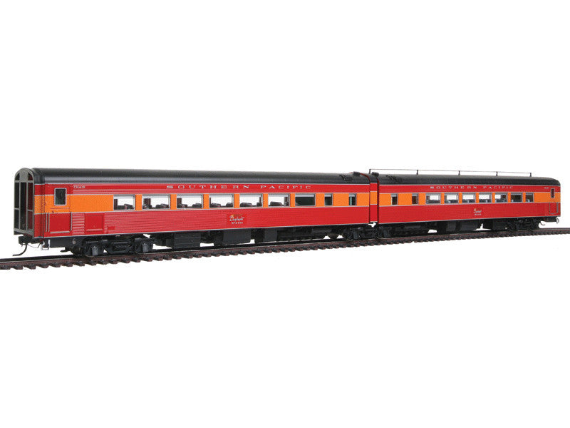 bli1581 HO SP Coast Daylight Train #99 Articulated Chair Car -- Southern Pacific #W2470/#M2469