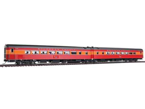 "HO Southern Pacific ""Coast Daylight"" Train #99 Series -- Articulated Chair Car #W2468/#M2467"