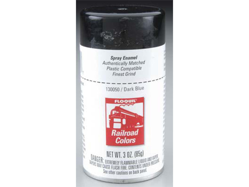 flo130050 A Enamel Dark Blue 3.2oz Spray