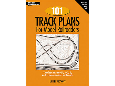 A 101 Track Plans for Model Railroaders -- Softcover