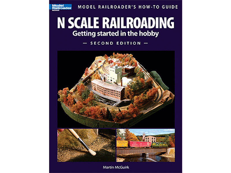 kal12428 N Book -- N Scale Railroading, Getting Started in the Hobby, Second Edition