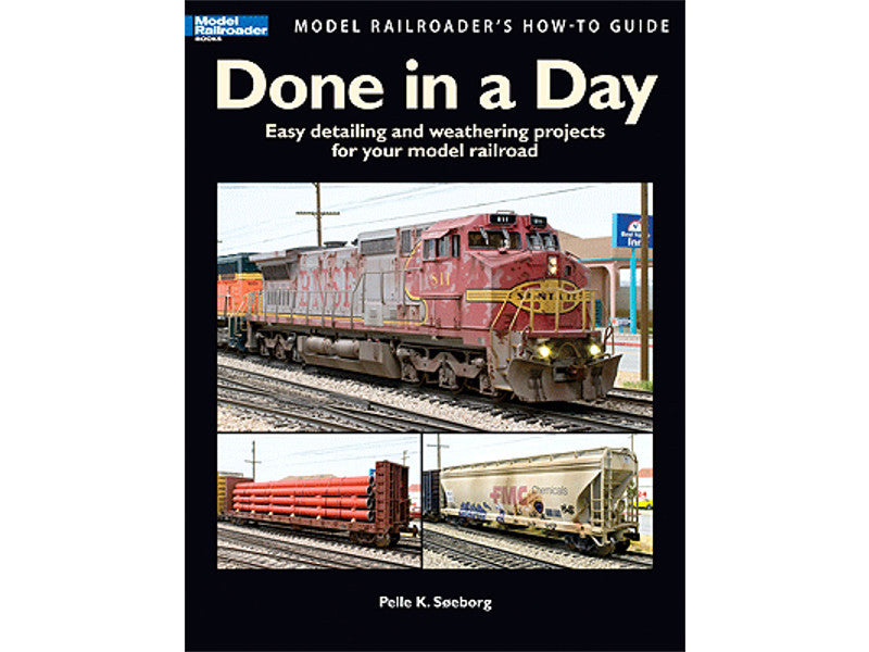 kal12458 A Book - Model Railroader's How-To Guide -- Done in a Day