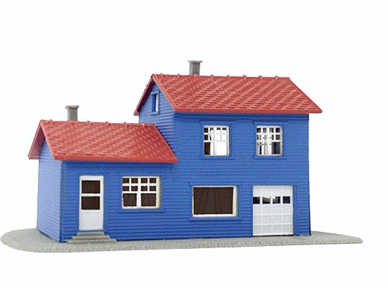 mdp1589 N Building Kits -- Split-Level House