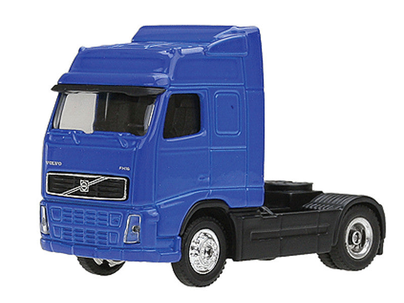 mdp20401 HO Diecast Truck - Volvo -- Blue, All Trucks Include Hard Plastic 2-pc. Stackable Display Box