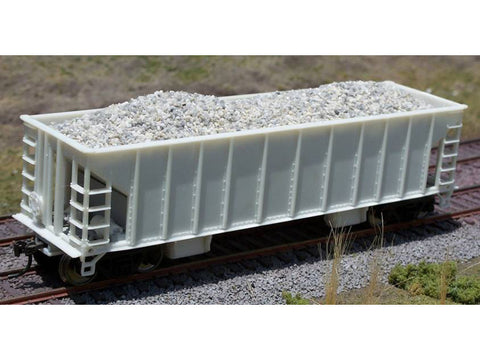 HO Gravel Load Ballast Hopper - Walthers (2 pack)