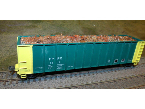 HO Scrap Metal Load 50' Gondola - Walthers