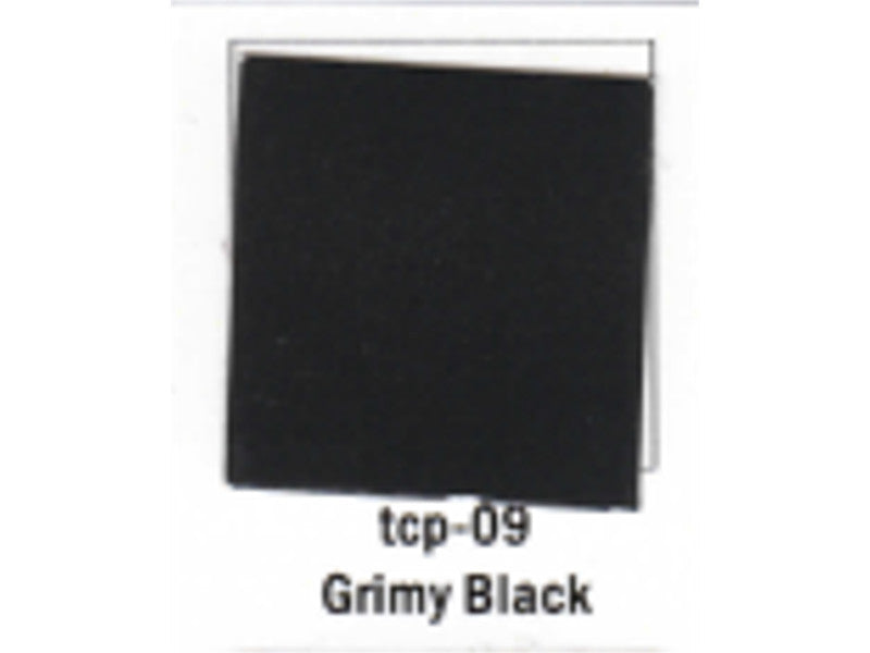 tup009 A Railroad Color Acrylic Paint 1oz 29.6ml -- Grimy Black