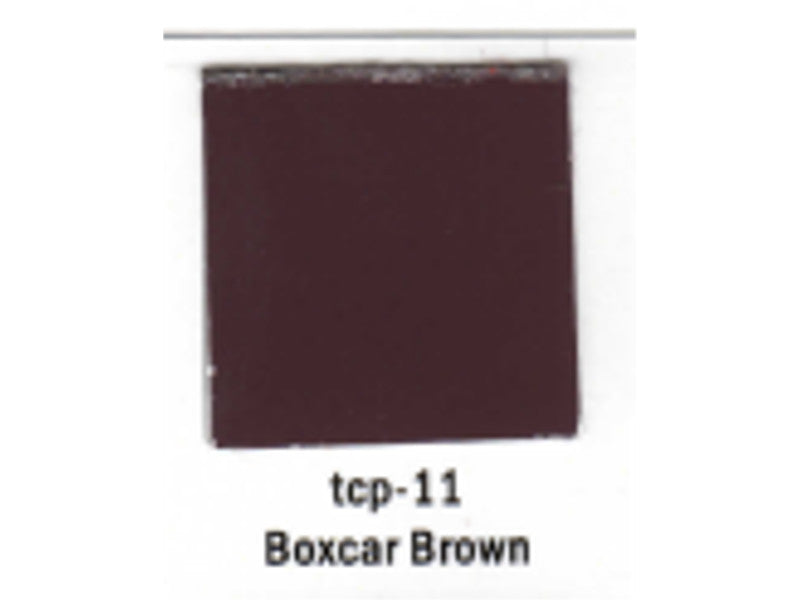 tup011 A Railroad Color Acrylic Paint 1oz 29.6ml -- Boxcar Brown