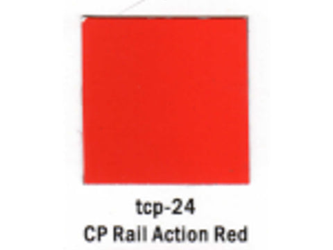 A Railroad Color Acrylic Paint 1oz 29.6ml -- Canadian Pacific Action Red