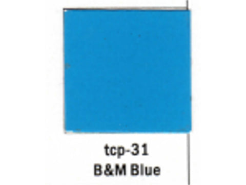 A Railroad Color Acrylic Paint 1oz 29.6ml -- Boston & Maine Blue