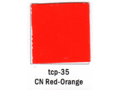 A Railroad Color Acrylic Paint 1oz 29.6ml -- Canadian National Red/Orange