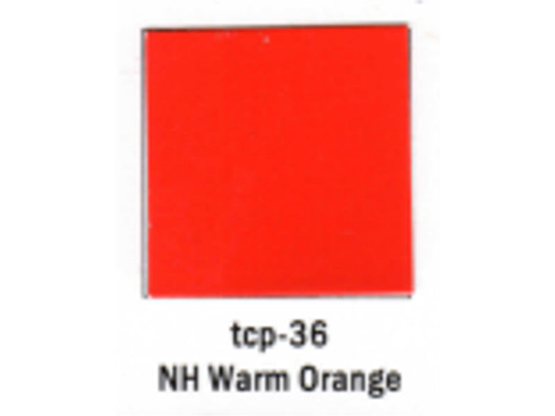 tup036 A Railroad Color Acrylic Paint 1oz 29.6ml -- New Haven Warm Orange