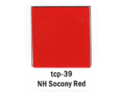 A Railroad Color Acrylic Paint 1oz 29.6ml -- New Haven Socony Red