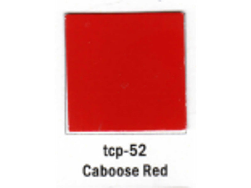 tup052 A Railroad Color Acrylic Paint 1oz 29.6ml -- Caboose Red