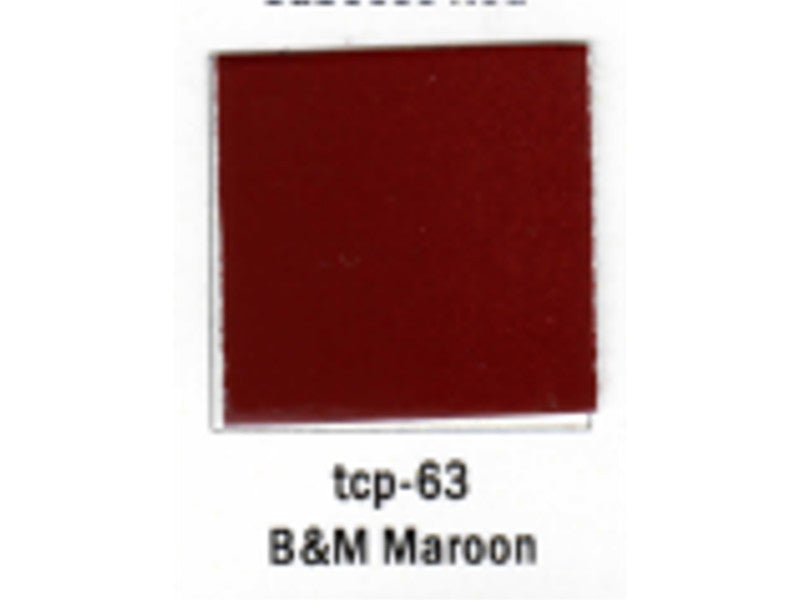 tup063 A Railroad Color Acrylic Paint 1oz 29.6ml -- Boston & Maine Maroon